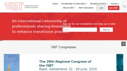 33rd International Congress of the ISBT (International Society of Blood Transfusion) 2014