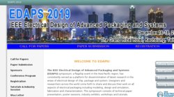 IEEE Electrical Design of Advanced Packaging and Systems Symposium (EDAPS 2016)