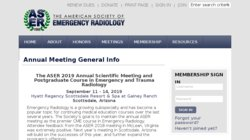 ASER 2014 - The American Society of Emergency Radiology Annual Meeting and Postgraduate Course in Trauma and Emergency Radiology