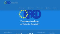 30th Annual Meeting of the European Academy of Esthetic Dentistry - EAED 2016