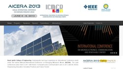 IEEE International Conference on Microelectronics, Communications and Renewable Energy (AICERA 2013)