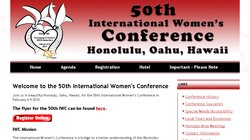50th International Women`s Conference 2014