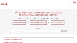6th International Conference on Mechanics and Industrial Engineering  (ICMIE 2017)
