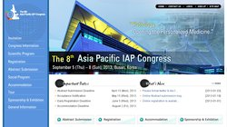 The 8th Asia Pacific IAP Congress (APIAP 2013)