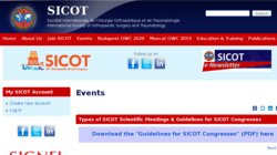 35th SICOT Orthopaedic World Conference 2015