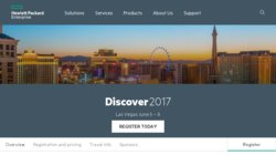 HPE Discover 2020 Las Vegas