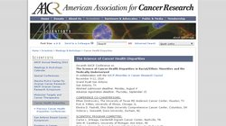 7th AACR International Conference on the Science of Cancer Health Disparities 2014