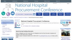 4th Annual National Hospital Procurement Conference 2014