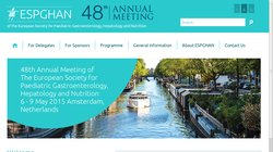 48th Annual Meeting of the European Society for Paediatric Gastroenterology, Hepatology and Nutrition (ESPGHAN 2015)