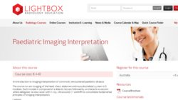 Paediatric Imaging Interpretation 2014