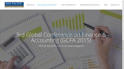 3rd Global Conference on Finance & Accounting (GCFA 2015)