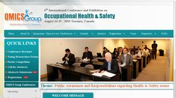 4th International Conference and Exhibition on Occupational Health & Safety 2015