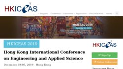 Hong Kong International Conference on Engineering and Applied Science (HKICEAS 2015)
