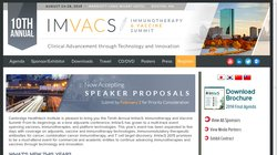 10th Annual ImVacS: The Immunotherapies and Vaccines Summit 2015