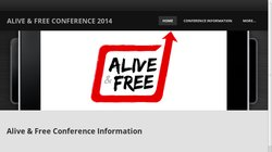 5th Biannual Alive & Free Conference 2014