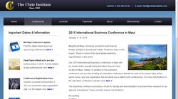 2015 International Business Conference in Maui