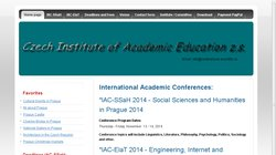 International Academic Conference on Engineering, Internet and Technology in Prague (IAC-EIaT 2014)