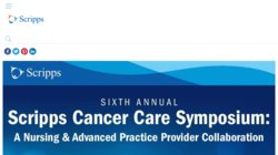 3rd Annual Scripps Cancer Care Symposium 2015 - A Nursing & Practice Provider Collaboration