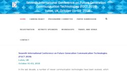 Fourth International Conference on Future Generation Communication Technologies (FGCT 2015)