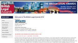 The British Legal Awards 2010