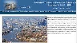 International Conference on Computer Science, Engineering and  Innovations  (ICCSEI  2015)