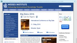 International Conference on Big Data 2016