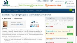 Back to the Future: Bring the Best of your Past into Your Retirement 2015