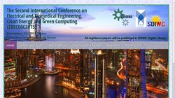 The Second International Conference on Electrical and Biomedical Engineering, Clean Energy and Green Computing (EBECEGC 2015)