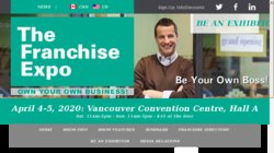 national franchise & business opportunities show - toronto on