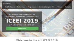 International Conference on Electronics Engineering and Informatics (ICEEI 2016)