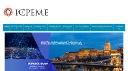 International Conference on Power, Energy and Mechanical Engineering (ICPEME 2016)
