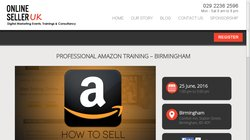 Professional Amazon Training u2013 Birmingham 2016