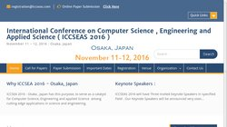 International Conference on Computer Science , Engineering and Applied Science (ICCSEAS 2016)