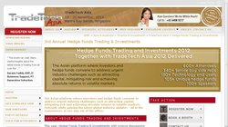 Hedge Funds Trading & Investments Summit Asia 2014