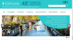 49th Annual Meeting of the European Society for Paediatric Gastroenterology, Hepatology and Nutrition (ESPGHAN 2016)