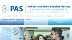 Annual Meeting of the Pediatric Academic Societies (PAS 2014)