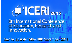 ICERI 2015 - The 8th International Conference of Education Research and Innovation