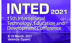 INTED2021 - The 15th International Technology, Education and Development Conference