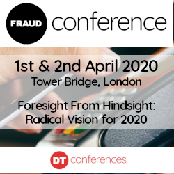 14th Annual - DT Fraud Conference 2020 - Banking and Payments