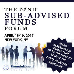 The 23rd Sub-Advised Funds Forum 2017