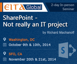 Sharepoint Seminar 2014 - Not really an IT Project, Washignton DC