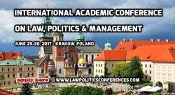 International Academic Conference on Law, Politics and Management (IACLPM 2017)