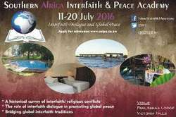 Southern Africa Interfaith and Peace Academy (SAIPA 2016)