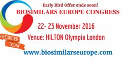Biosimilars Europe Congress 2016