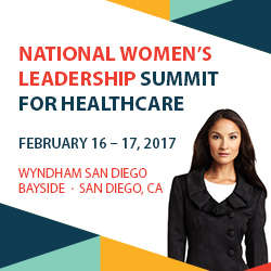 National Women's Leadership Summit for Healthcare 2017