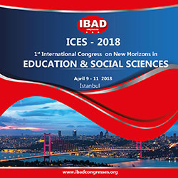 1st International Congress on New Horizons in Education and Social Sciences (ICES 2018)