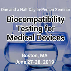 Biocompatibility Testing for Medical Devices 2019