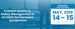 Aviation Quality & Safety Management in an EASA Environment Symposium 2019