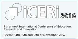 9th annual International Conference of Education, Research and Innovation (ICERI 2016)