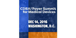 CDRH/Payer Summit for Medical Device Executives 2016